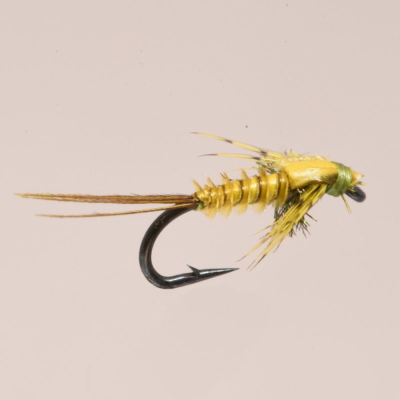 stealth Bio Mayfly Blue Wing Olive Size 18