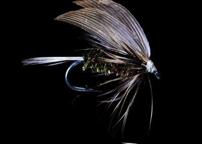 Stealth Gray Hackle Peacock